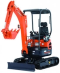 Rental store for EXCAVATOR-MINI KUBOTA U17 MED. in Stevens PA