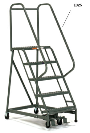 Ladder 5 Step Rolling Rentals Lancaster Pa Where To Rent