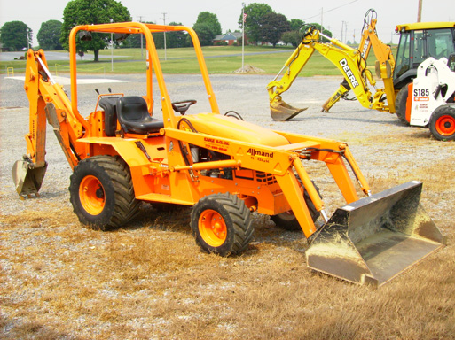 Where to find TRACTOR-ALLMAND TLB425 BACKHOE in Stevens