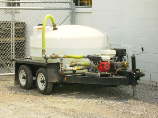 Where to find WATER TANK-ON TRAILER W WASHER in Lancaster