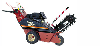 Where to find TRENCHER-1230 DITCH WITCH-2  X 6 in Stevens