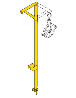 Where to find SCAFFOLDING-HOIST ARM in Stevens