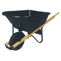Where to find WHEEL BARROW 6 CU.FT.-POLY in Lancaster