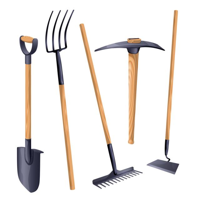 Where to find HAND TOOLS-RAKES, SHOVELS ETC. in Stevens