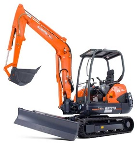 Where to find EXCAVATOR-MINI KUB. KX121 W HYD THUMB in Lancaster