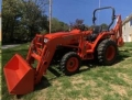 Rental store for TRACTOR-KUBOTA MX5200 LOADER BACKHOE in Stevens PA
