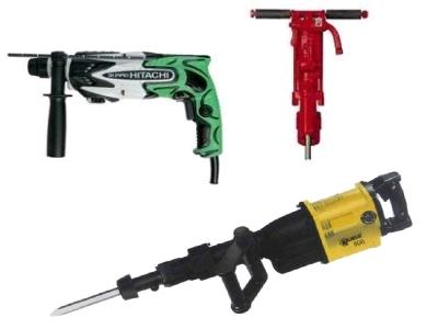 Rent Jack Hammers / Hammer Drills And Accessories